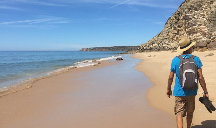 Castro Marim- portugiesischen Boden unter den Reifen